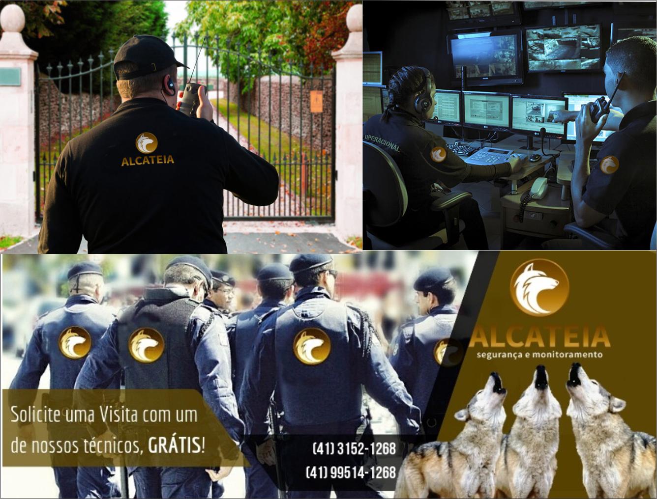 Alcatéia Segurança e monitoramento