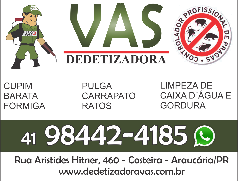Vas Dedetizadora - 98442-4185