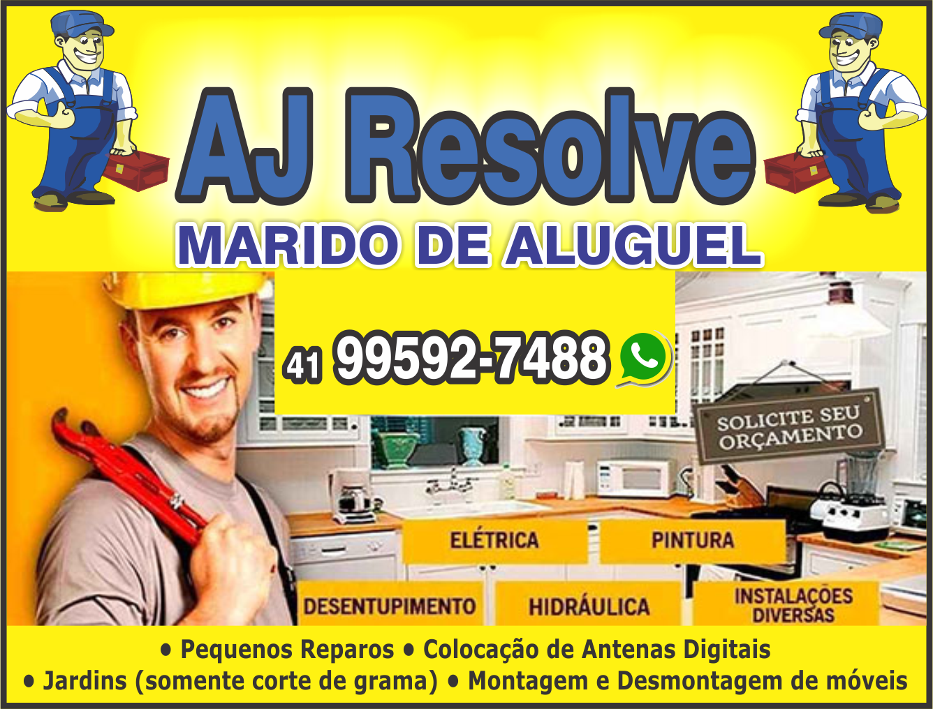 AJ Resolve       Fones: (41)99592-7488 /