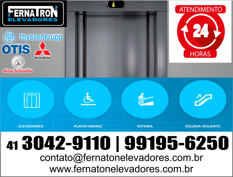Fernatron Elevadores      Fones: (41) 3042-9110 / (41) 99195-6250