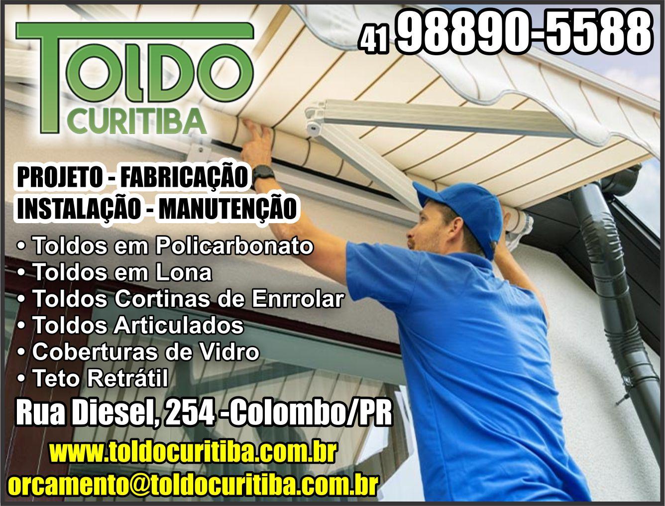 RUA DIESEL, 254, COLOMBO - PR  Fones: (41)98890-5588