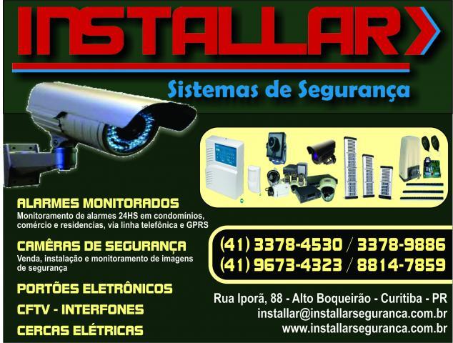 Installar Sistemas de Segurança       RUA IPORA, 88, CURITIBA - PR  Fones: (41)3378-9886 / 4199673-4323